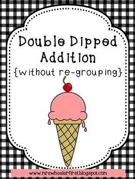 grade math double digit addition  regrouping