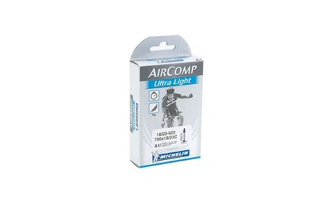 chambre a air v駘o chambre à air michelin aircomp ultralight a1 700x18 23c presta 52mm