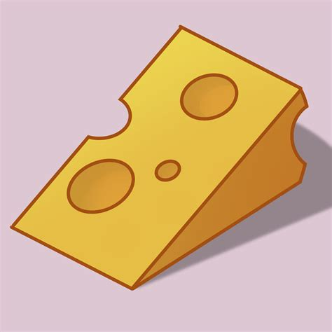 draw  cartoon cheese  steps  pictures