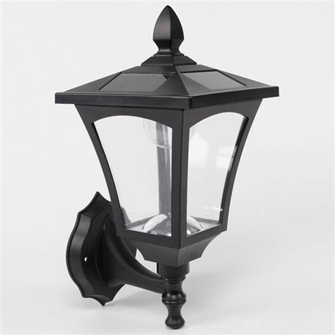 solar porch light outdoor solar wall light white