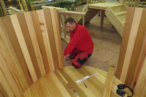 fabriquer bureau bois bain nordique en cèdre menuiserie noel be