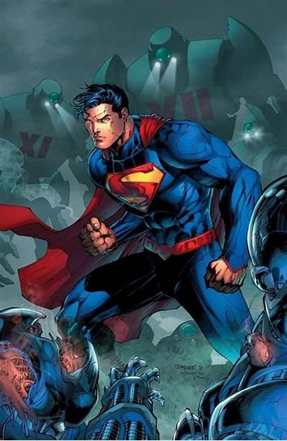 52 Superman Costume Steel Jim Lee Justice
