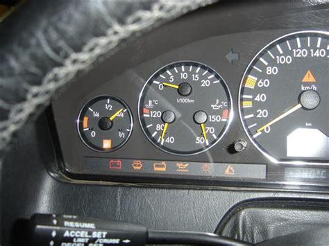 sl  dash lights mercedes benz forum