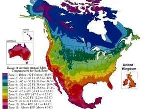 North America Climate Zone Map