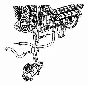 Dodge Ram 3500 Power Steering Return Hose  Diesel  Cab
