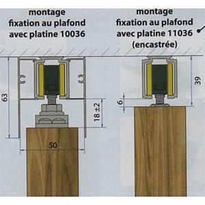 Rail Haut Pour Porte Coulissante SAF 40 Et SAF 80 MANTION
