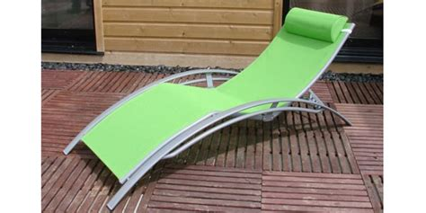 sun lounger green buy sun lounger green
