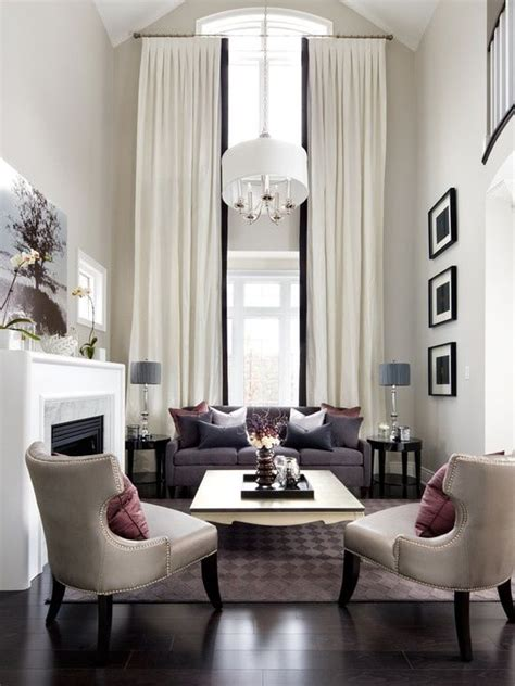 chic white living room  dark wood floor home ideas