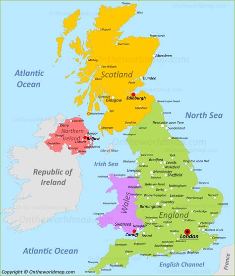 uk maps maps  united kingdom
