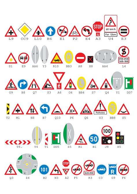 exle k53 learner s test with answers road signs for