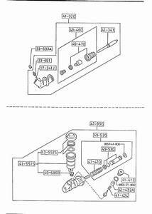 1989 Mazda B2200 Engine Accessories Diagram