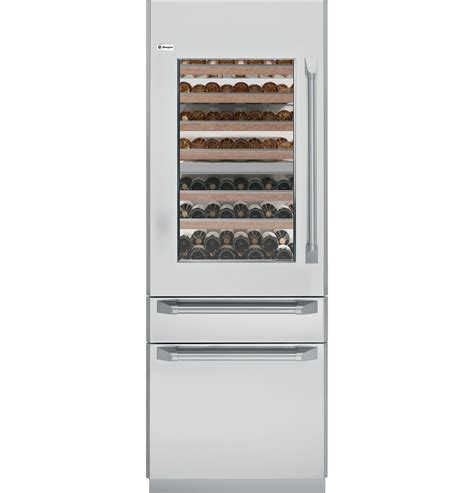 monogram  fully integrated wine refrigerator ziwgnzii ge appliances