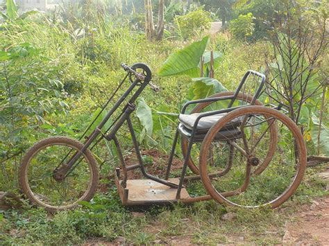 Very Interesting Homemade Bicycle