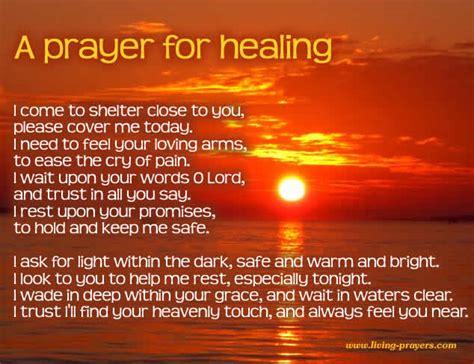 speedy recovery prayer  surgery  healing