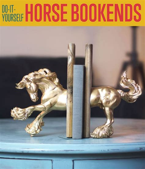 horse bookends diy projects craft ideas