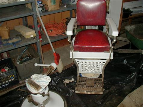 koken barber chairs by year 1920 s 1930 s koken barber chair collectors weekly
