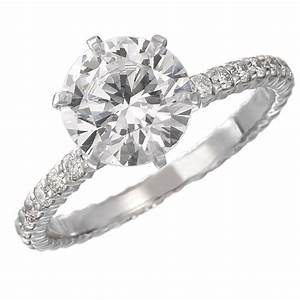 long39s jewelers signature engagement ring collection With solitaire ring with diamond wedding band