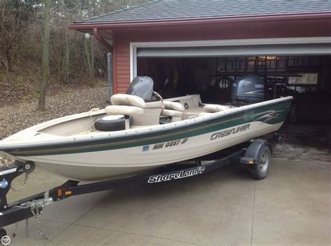 Used Aluminum Boats For Sale by Used Aluminum Fish Crestliner Boats For Sale Boats