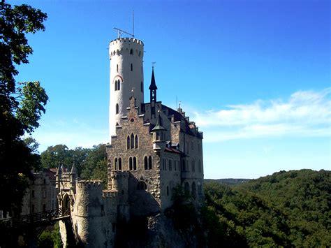 lichtenstein castle castle  germany thousand wonders