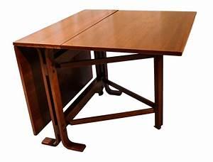 Danish, Drop, Leaf, Teak, Dining, Table, Bruno, Mathsson, Style