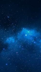 Blue Night Sky Wallpaper - WallpaperSafari