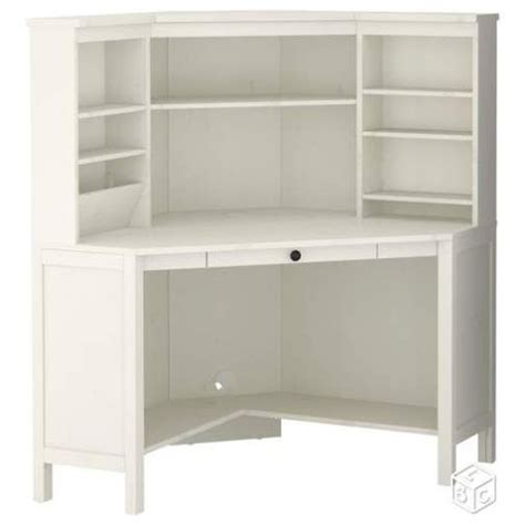 bureau d angle ikea blanc achat vente neuf d occasion priceminister