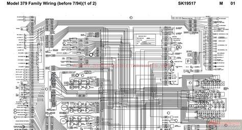 Peterbilt Wiring Harnes Diagram by Peterbilt Wiring Schematics Wiring Diagram