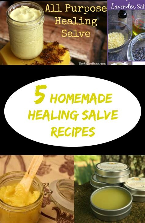 homemade healing salve recipes discountqueenscom