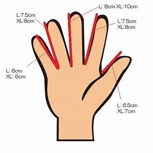 Question about glove size: Our biggest concern was our ...