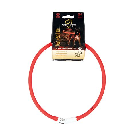 Reddingsvest Gamma by Flash Light Ring Usb Silicone Rood Laroy Group