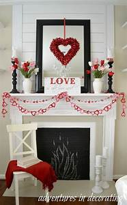 Adventures, In, Decorating, Our, Sitting, Room, Valentine, Mantel