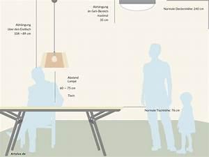 Lampe Esszimmertisch : abstand der lampe ber dem esstisch artylux online shop ~ Pilothousefishingboats.com Haus und Dekorationen