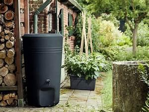 Recupérateur Eau De Pluie : r cup rateur d 39 eau de pluie mod le rain barrel elho ~ Premium-room.com Idées de Décoration