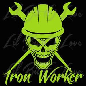chair covers for sale iron worker skull in hat with crossed spud wrenches