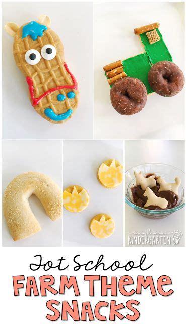 farm animal snacks for preschoolers best 25 farm theme classroom ideas on 905