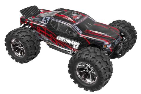 nitro rc monster trucks redcat racing earthquake 3 5 1 8 scale nitro rc monster