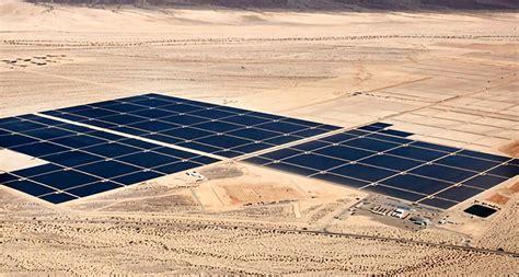 worlds largest solar plant  active  california