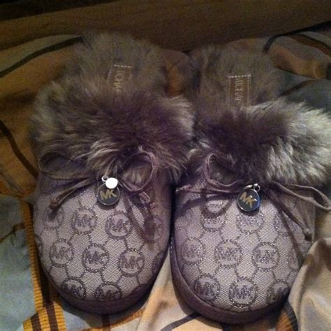 michael kors authentic michael kors house slippers from laeisha s closet on poshmark