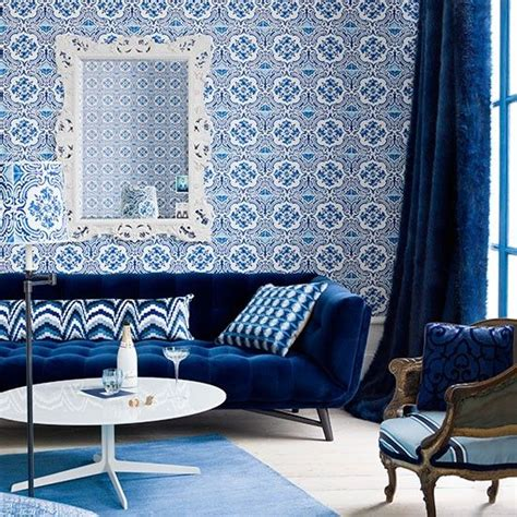Monochromatic Blue Living Room by 17 Best Images About Monochromatic Rooms On