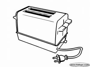 toaster coloring page With electronics homepage