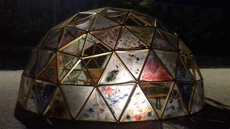 cupola geodetica bioedilizia come si costruisce una cupola geodetica