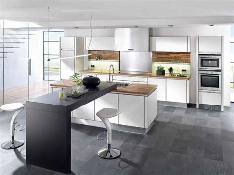exemple cuisine avec ilot central modele de cuisine americaine avec ilot central 2