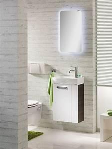 Gäste Wc Möbel : g ste wc waschbecken spiegel und m bel von fackelmann ~ Michelbontemps.com Haus und Dekorationen