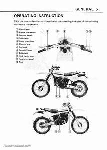 1982-1984 Suzuki Pe175 Motorcycle Owners Manual
