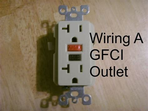How Install Gfci Outlet Outlets Diy Crafts