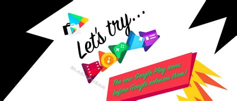 Let's Try The New Google Play App Icons Slashgear