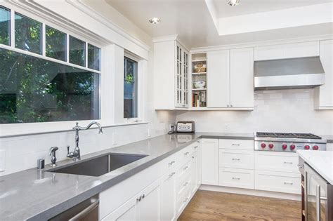 Wonderful Light Grey Quartz Countertops : Most Popular