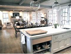 Open Plan Kitchen Dining Room And Living Room by Double Dishwashers Transitional Kitchen Jane Green