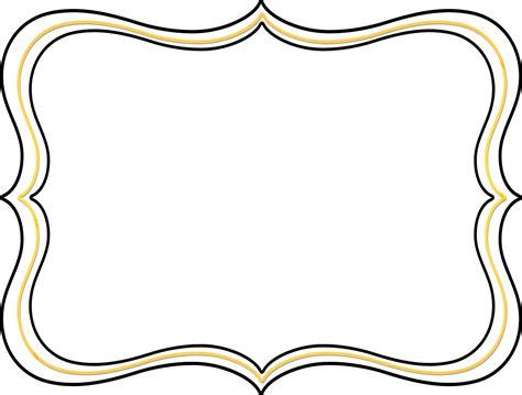 clipart frame free clip borders scroll clipart panda free