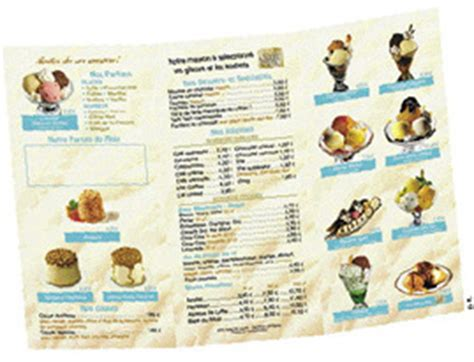 carte des desserts restaurant une carte des desserts tr 232 s attrayante